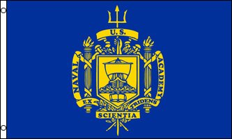 AZ FLAG United States Naval Academy Flag 3
