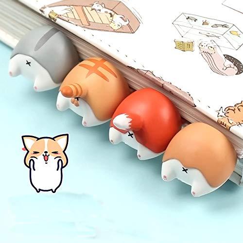 Cute Cartoon Gatto Cane Criceto Butt Preferiti Kawaii novità Prenota regalo progetto Per Bambini Bambini Children Stationery Grey 1Pc per gli studenti