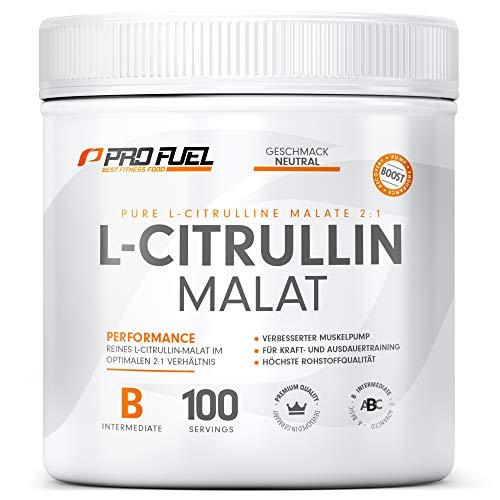 L-Citrullin Malat Pulver 2:1   Hochdosiert & Rein   Made in Germany   Workout Booster   100% vegan – 300g