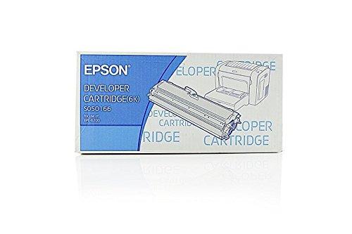 Cartucho original para EPSON EPL 6200N EPSON S05016650166, C13S050166, S050166–PREMIUM de impresoras cartucho–Negro–6000páginas