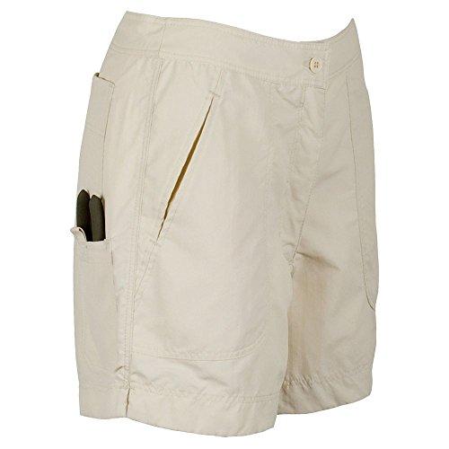 Guy Harvey Ladies Fishing Shorts - Natural - Ladies Size 10