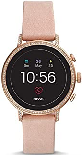 Fossil Gen 4 Smartwatch Venture HR Blush Leather - FTW6015