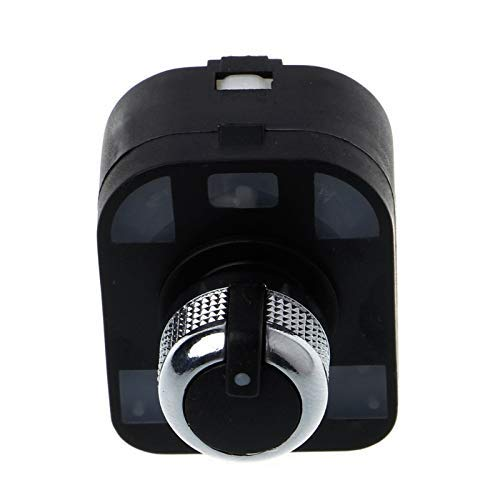 Botón de interruptor de espejo para faros de ventana, compatible con Audi A6, S6, C6, RS6 A6, compatible con Allroad Quattro A3 Q7 4F0959851 4F1941431E 4F0959565 4F1 959 855 (color predeterminado)