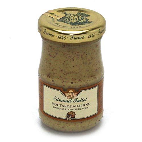 Moutarde aux noix, Dijon-Senf mit Nüssen, 105g Glas