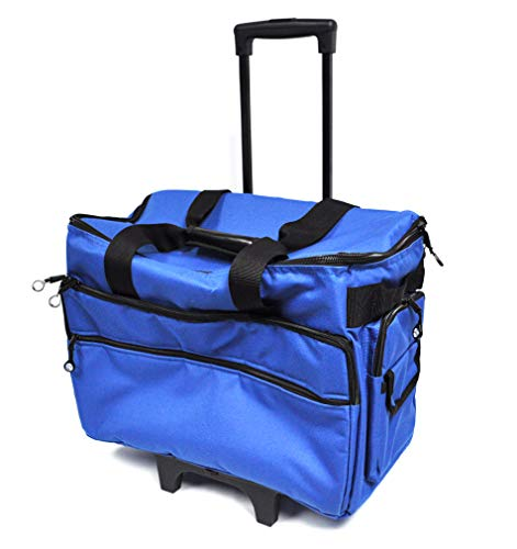 Bluefig TB19 Wheeled Sewing Machine Carrier (Cobalt)