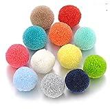 TTCI-RR Collana Aromaterapia Vintage Ball Locket Open Pendant Collana per Aroma Essential Oil Diffuser De Diffusore Gioielli Donne Regalo (Metal Color : 10pcs Pompon Ball)