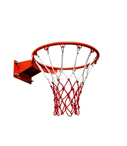 Aoligei Aro de Baloncesto, Canasta de Baloncesto, Profesional Canasta de Baloncesto, Colgante montado en la Pared Meta de aro de Baloncesto con Tornillo de Red para Exteriores
