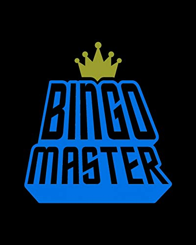 Bingo Master: Official Bingo Caller Score Sheets - Gift for Beginning and Experienced Players