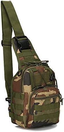 BestTas Umh/ängetasche Molle Brusttasche Military Sling Rucksack Taktische Umh/ängetasche f/ür Trekking Camping Wandern Reisen