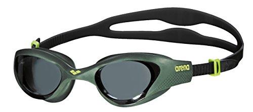 Arena The One Gafas de Natación, Unisex Adulto, Verde (Smoke/Deep Green/Black), talla única
