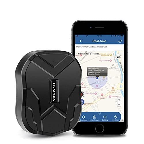 Localizzatore GPS per Auto Antifurto Spia Magnetico 90 Giorni Standby IP65 Impermeabile GPS Tracker Con App senza Abbonamento per Camper Moto TK905
