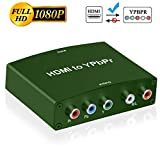 Easy to Use, install in seconds, no need of setting,Convert HDMI input into analog YPbPr video and R/L audio signal output,its not work for reversed. Supports 165MHz/1.65Ghps per channel(6.75Gps all channel)bandwidth for HDMI Input' HDMI resolutions ...