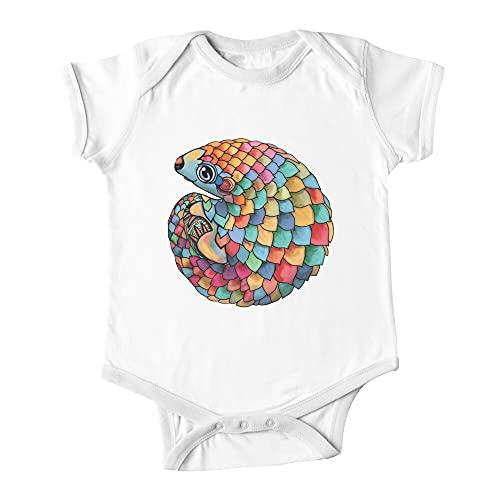 Huang Rainbow Pangolin bebé de una pieza