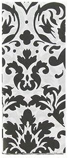 Black & White Damask Tissue Paper