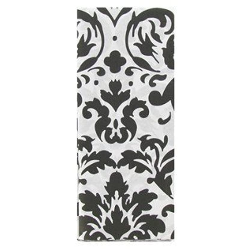 Black & White Damask Tissue Paper