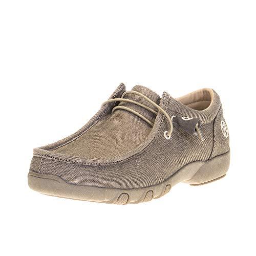 Roper womens Casual Shoe Moccasin, Tan, 8 US