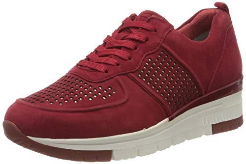 Tamaris Damen 1-1-23745-24 Sneaker, Rot (Rubin/Punch 546), 37 EU