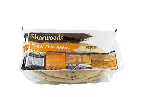 Sharwoods Mini Naan Brot Clas, 260 g
