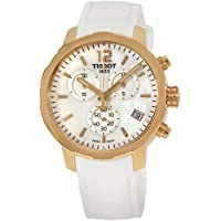 Tissot Quickster Chronograph Silicone Quartz Women's Watch