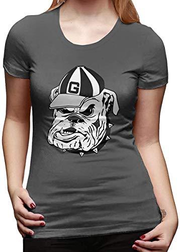 Huntermatin Rhythm of Rain Georgia Bulldogs Women's T-Shirt,Small