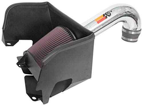 K&N Cold Air Intake Kit: High Performance, Guaranteed to Increase Horsepower: 2019-2020 RAM/DODGE (1500) 77-1578KP