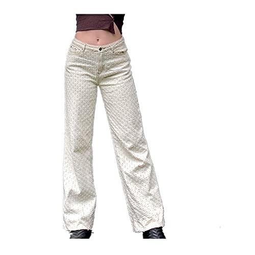 Yk Pantalones Mujeres Pantalones Rasgados holgy Boyfriend Jeans Mujeres Verano Angustiado