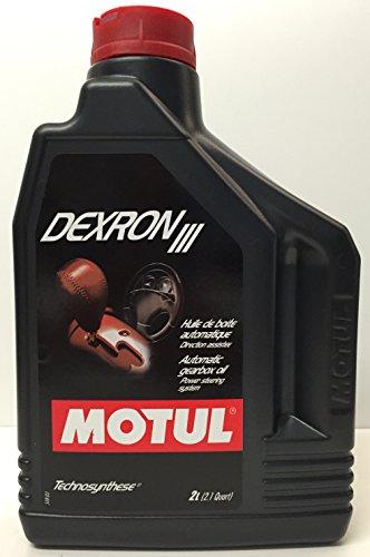 Motul 100318 Synthetik Dexron III Automatic Transmission Fluid, 2 l