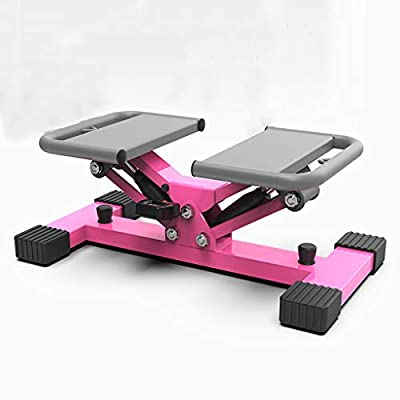 LJQ Mini Home Fitness Equipment, Hiking Stepping Mute Multi-Function Weight Loss Exercise Machine, Suitable for All Fitness Groups