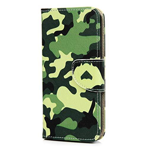 Funda para Samsung Galaxy A41, a prueba de golpes, de piel sintética, suave, con función atril, tarjetero, ranura para identificación, delgada, tapa protectora para Samsung Galaxy A41
