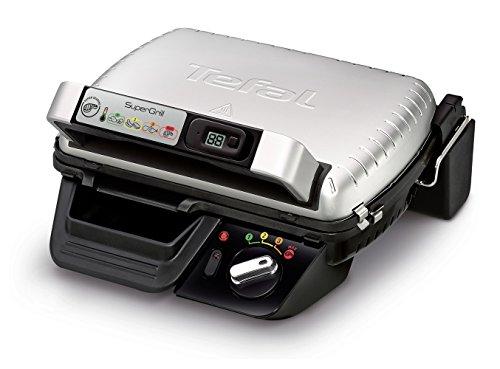 Tefal Supergrill Barbecue électrique 2000 W en aluminium 320 x 240 mm