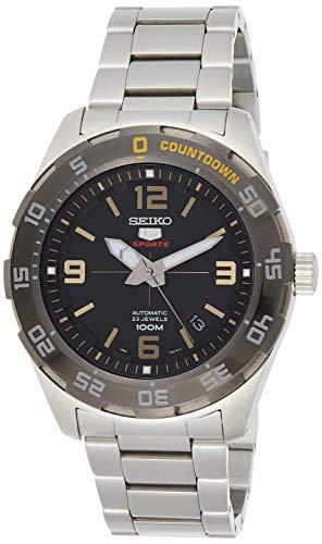 Seiko Herren Analog Automatik Uhr mit Edelstahl Armband SRPB83K1