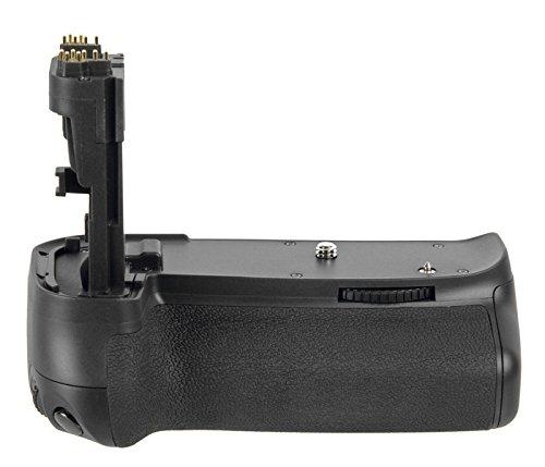 Meike–Impugnatura portabatteria per Canon EOS 60d come BG-E9(formato verticale, ricaricabile Griff)–P
