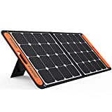 Jackery SolarSaga 100W Portable Solar Panel for Explorer 240/300/500/1000/1500 Power Station, Foldable US Solar Cell Solar Charger with USB Outputs for Phones (Can't Charge Explorer 440/ PowerPro)
