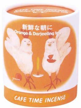 日本香堂 カフェタイムインセンス『新鮮な朝に』