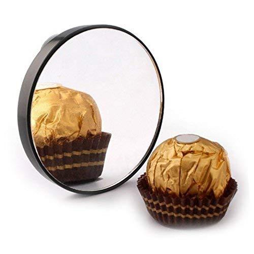 Itian Miroir grossissant avec Deux ventouses pour Maquillage, grossissement 10x