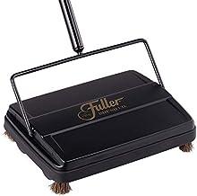 "Fuller Brush Electrostatic Carpet & Floor Sweeper - 9"" Cleaning Path - Black"