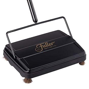 Fuller Brush 17027 Carpet & Floor Sweeper- Mini Stick Cleaner For Hardwood Surfaces Wood Floors Laminate Tile- Small & Portable For The Home Or Office - Cleans Dust Pet Hair- Electrostatic & Silent