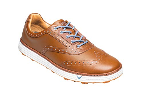 Callaway Del Mar Retro Waterproof Spikeless, Chaussures de...