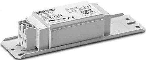 Houben Vorschaltgerät, Metall, Integriert, 10 W, Grau, 35 x 35 x 25 cm