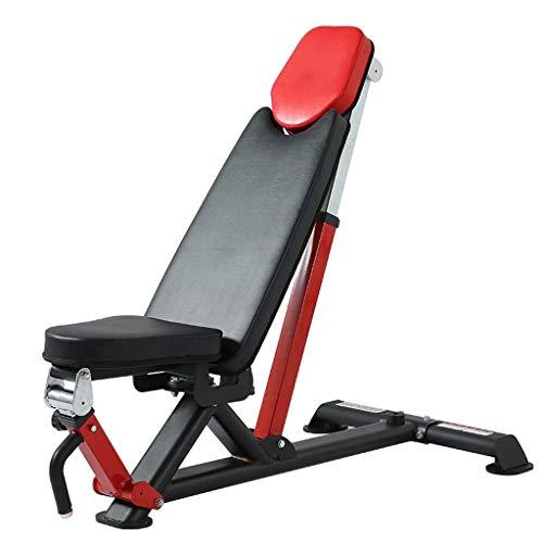 BATOWE Hantelbank/Fitness Stuhl Professionelle Gewerbe Männer Gym Bench Press Start Multifunktions-Bankdrücken Can Bär 600kg (Size : 137x73.5x122cm)