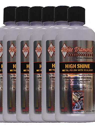 White Diamond Detail Products Hochglanz-Finish Metall Politur Box mit 6 Flaschen