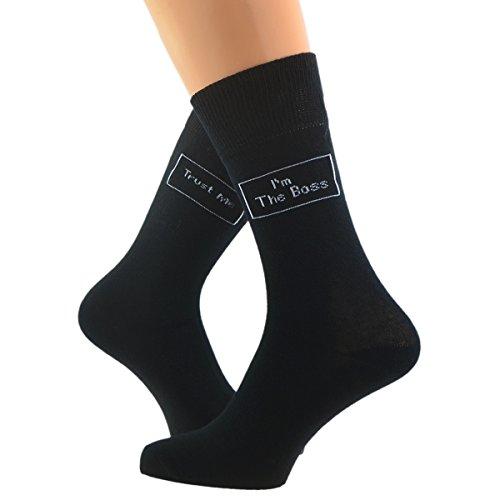 GTR Socken mit Trust me I'm the Boss- Motiv (X6S156)