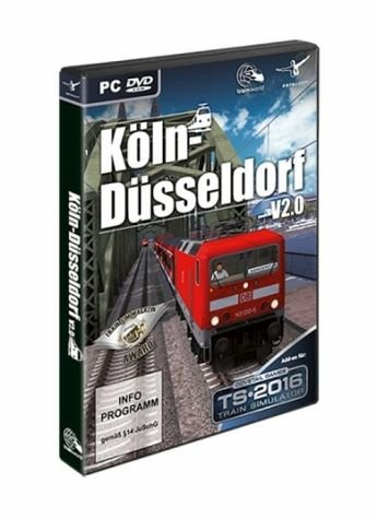 Train Simulator 2016 - Köln-Düsseldorf V 2.0 (Add-On) - [Edizione: Germania]