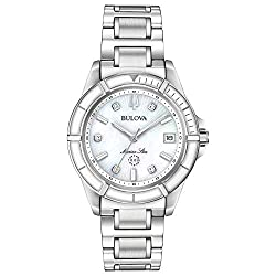 Silver Tone Stainless Steel Case with A White Dial Set