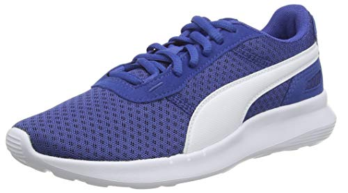 PUMA ST Activate Jr Sneaker, Galaxy Blue White, 36 EU