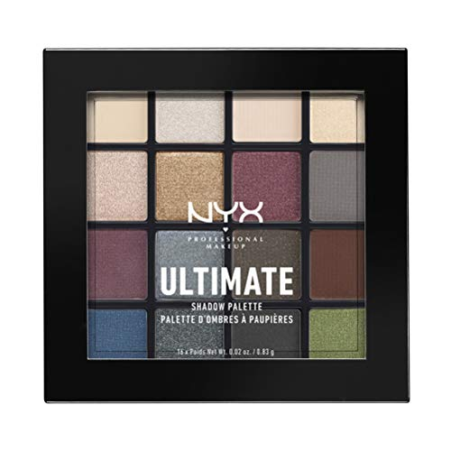 NYX Professional Makeup Paleta sombra ojos Ultimate