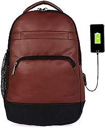 Fur Jaden 15.6 Inch Laptop Backpack Bag with USB Charging Port,FUR JADEN,BM100