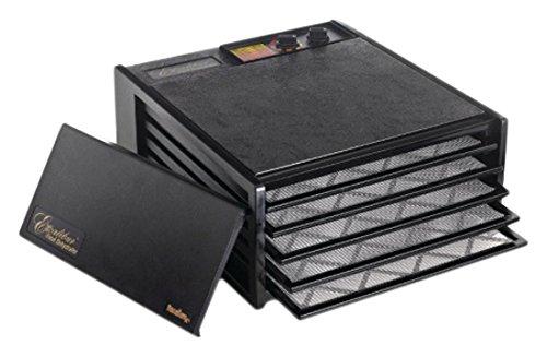 Excalibur GL3715bandeja deshidratador de alimentos con temporizador, 38cm x 38cm), color negro