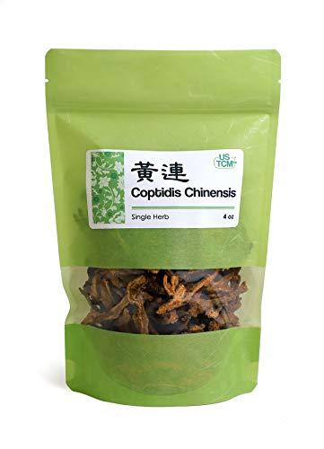 New Packaging Rhizoma Coptidis Goldthread Huang Lian 黄莲 Dried 4 Oz
