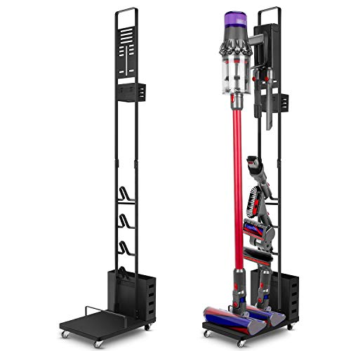 ESEOE Storage Stand for Dyson Docking-Station-Holder for Dyson V7 V8 V10 V11 Cordless Vacuum Cleaners & Accessories, Stable Metal Storage Bracket Organizer Rack